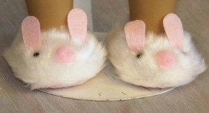 860 - Bunny Slippers