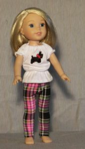 382 - WW Plaid Pants & Top